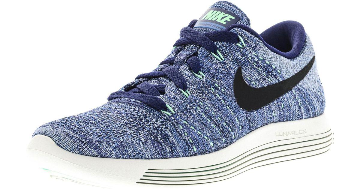 on sale ea074 f10e3 Nike - Blue Lunarepic Low Flyknit Ankle-high Skateboarding Shoe - 6.5m for  Men - Lyst
