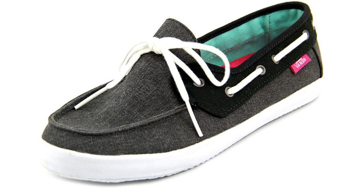 6f115a323d5fd3 Lyst - Vans Chauffette Women Us 5.5 Black Loafer in Black