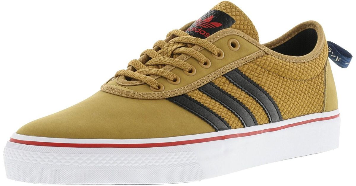 save off 4a7b0 d0443 Lyst - adidas Adi-ease Mesa  Core Black Scarlet Ankle-high Canvas  Skateboarding Shoe in Black for Men