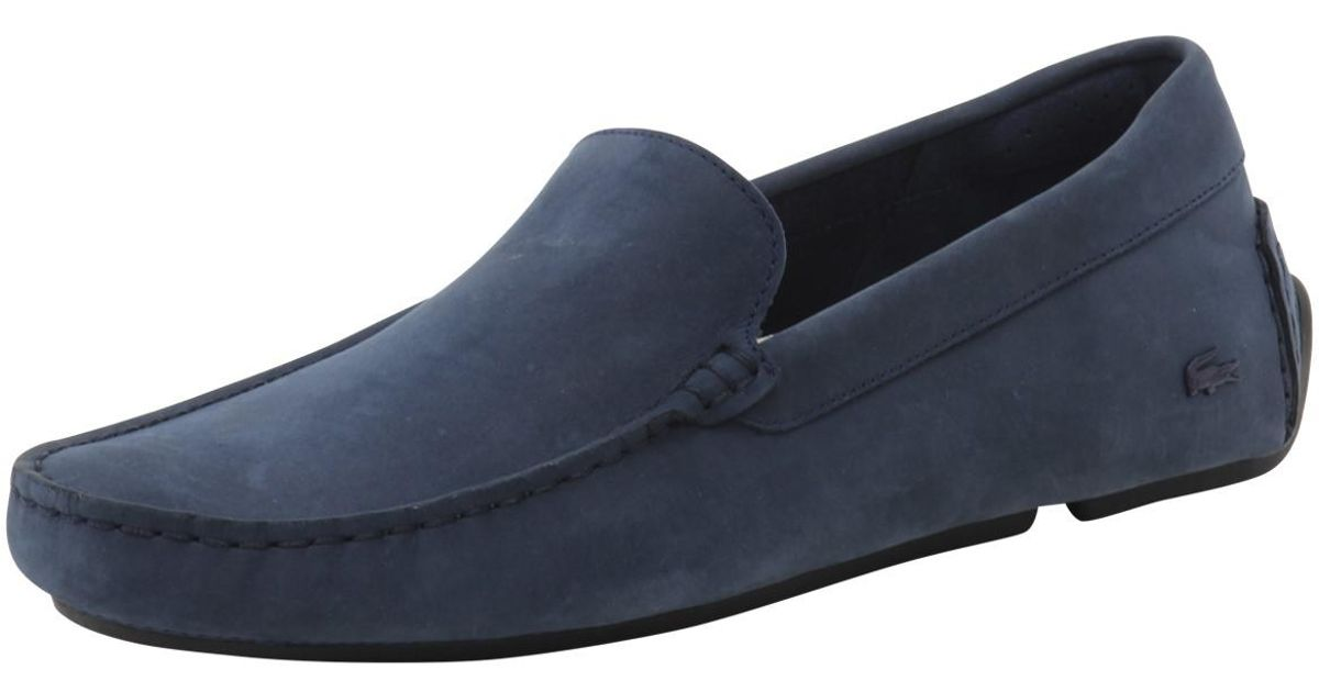 8a7b0e15e Lyst - Lacoste Piloter 316 1 Navy Loafers Shoes in Blue for Men