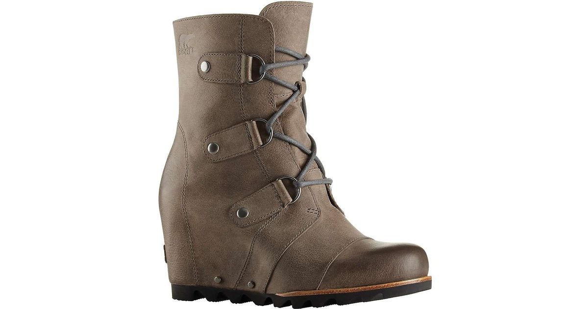 c40ffcaca7b8 Lyst - Sorel Joan Of Arctic Wedge Mid Boot in Brown