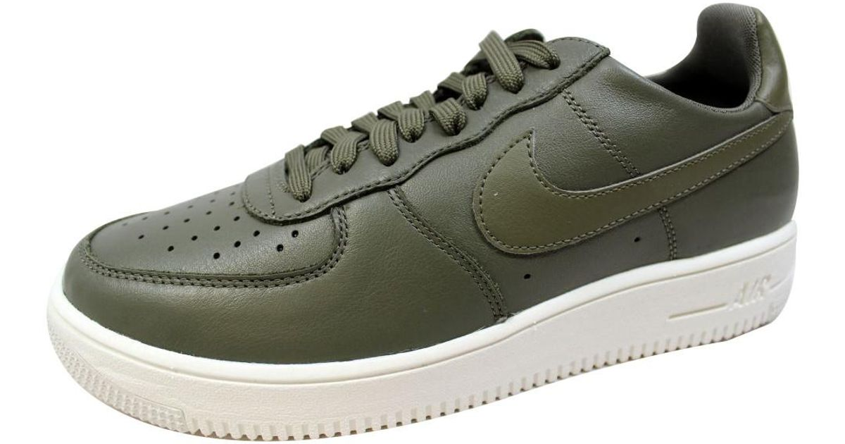 Nike Multicolor Air Force 1 Ultraforce Leather Medium Olive 845052 201 for Men Lyst