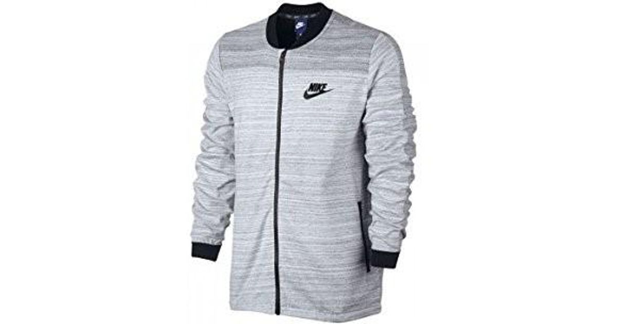 a27bc05769ea Lyst - Nike 837008-100   Sportswear Advance 15 Jacket in White