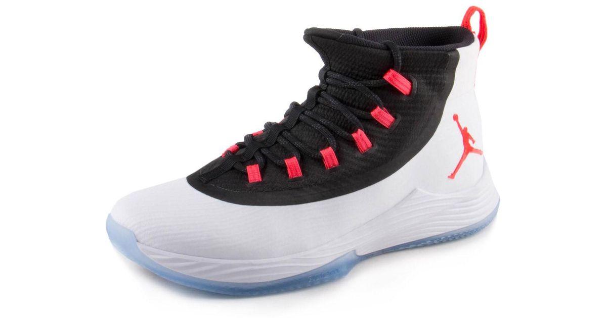 e21eb814149f6e Lyst - Nike Mens Jordan Ultra Fly 2 White infrared 897998-123 Size 9 in  White for Men