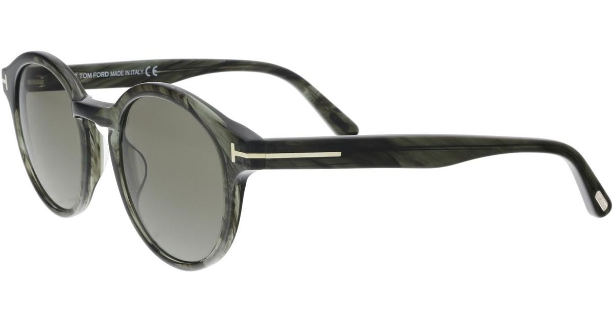 05e2643a16 Lyst - Tom Ford Sunglasses Lucho Tf 400 Ft 20b Grey other   Gradient Smoke  in Gray - Save 6%