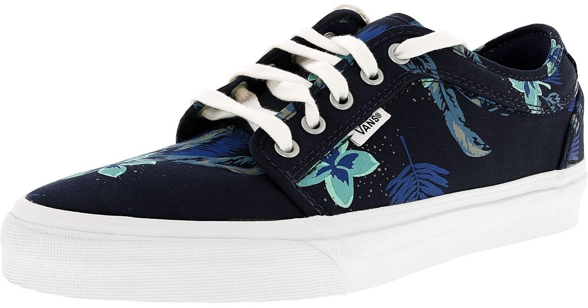 acd72ad15b Lyst - Vans Chukka Low Aloha Navy   Blue Ankle-high Fabric Skateboarding  Shoe in Blue for Men