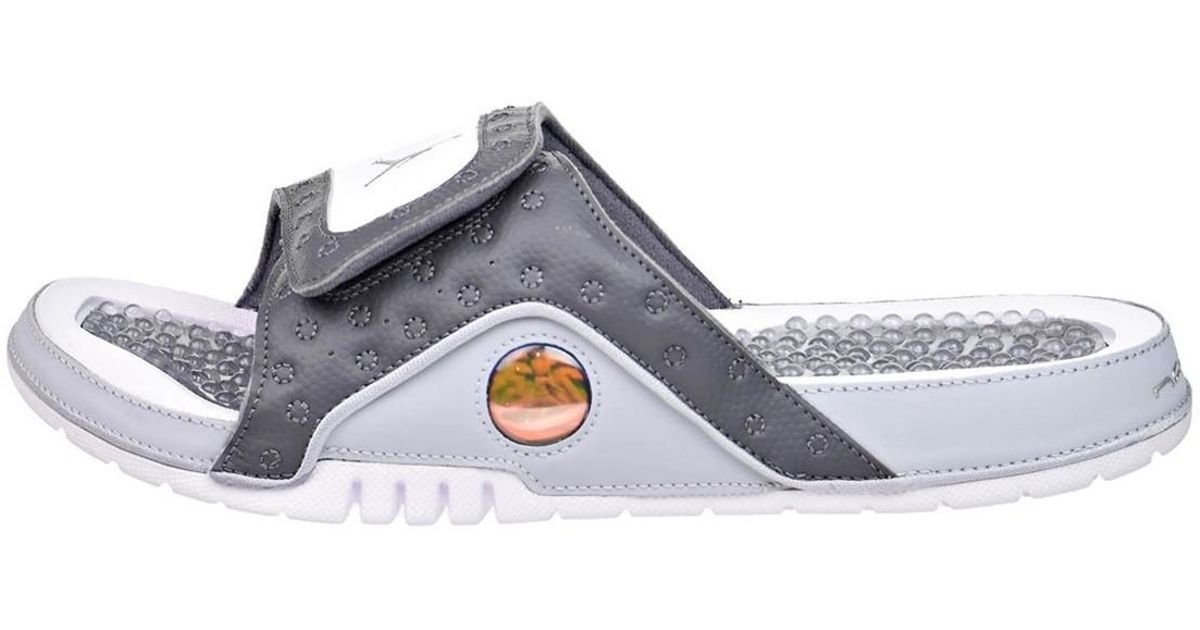 f1b8a9e9cd09 Lyst - Nike Jordan Hydro Xiii Retro Sandals - 8 - Grey in Gray for Men