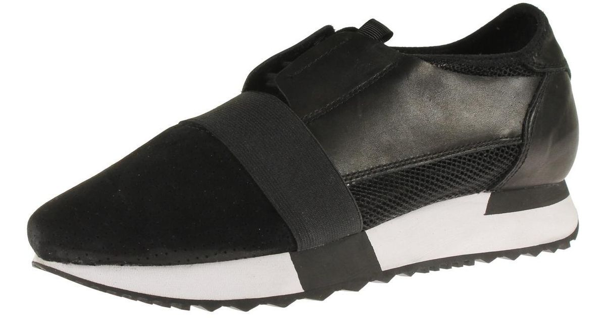 09fd25b7919 Lyst - Steve Madden Altitude Leather Perforated Fashion Sneakers in Black  for Men