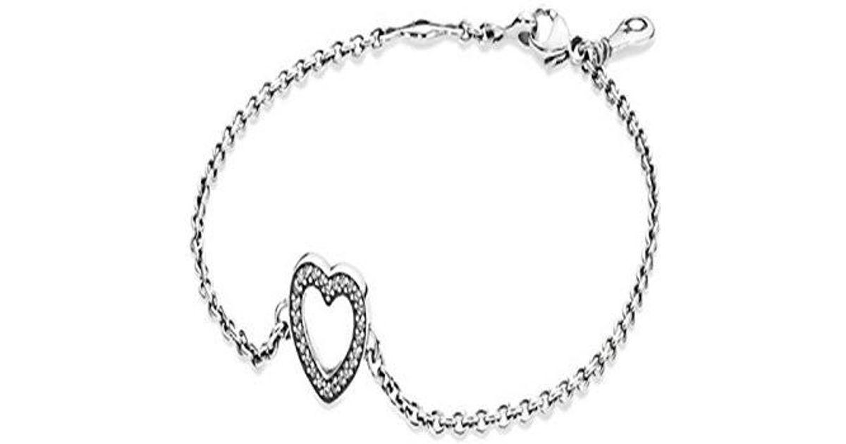 Lyst Pandora Symbol Of Love Bracelet In 925 Sterling Silver In