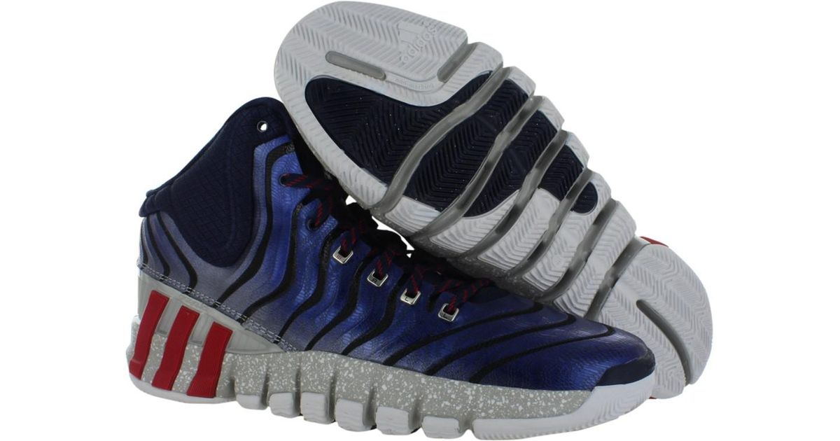 best sneakers 7bde0 3c418 Lyst - adidas Adipure Crazy Quick 2 Shoes Size 12 in Blue fo