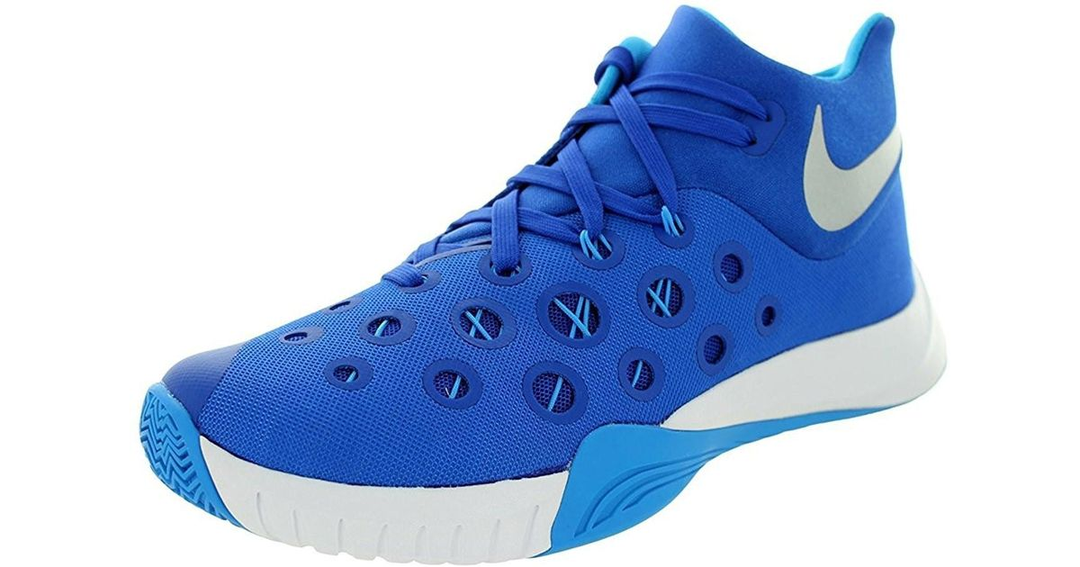 bfd46a3b1ee Lyst - Nike Zoom Hyperquickness 2015 Basketball Shoes in Blue for Men