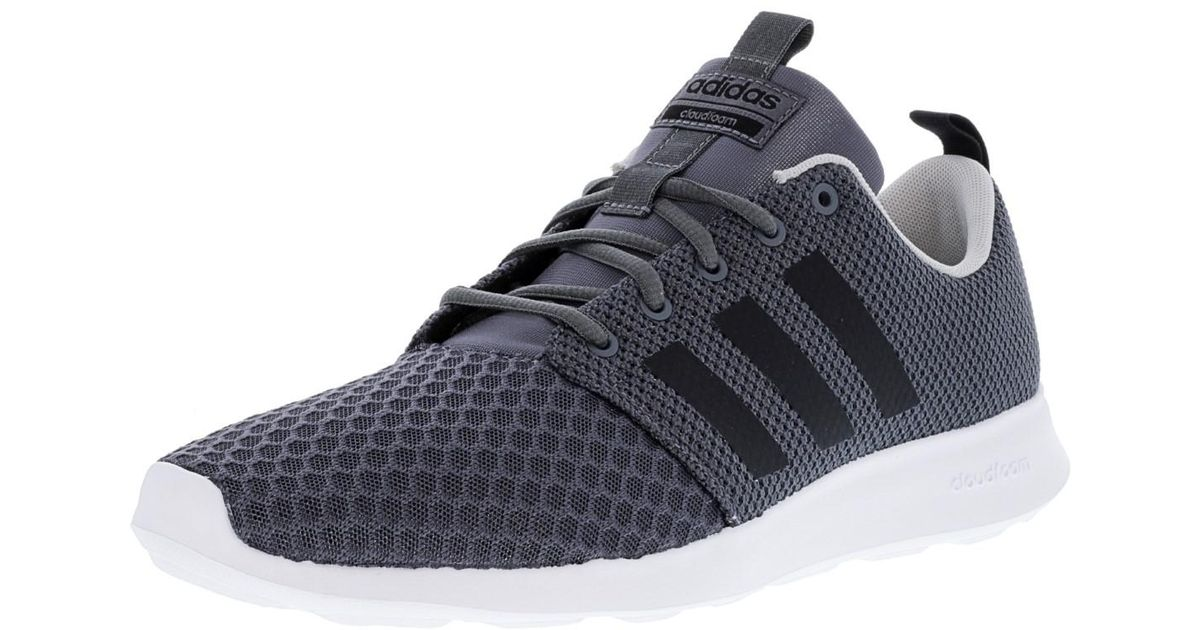 470f444cd Lyst - adidas Cloudfoam Swift Racer Grey   Core Black Ankle-high Running  Shoe - 11m in Gray for Men