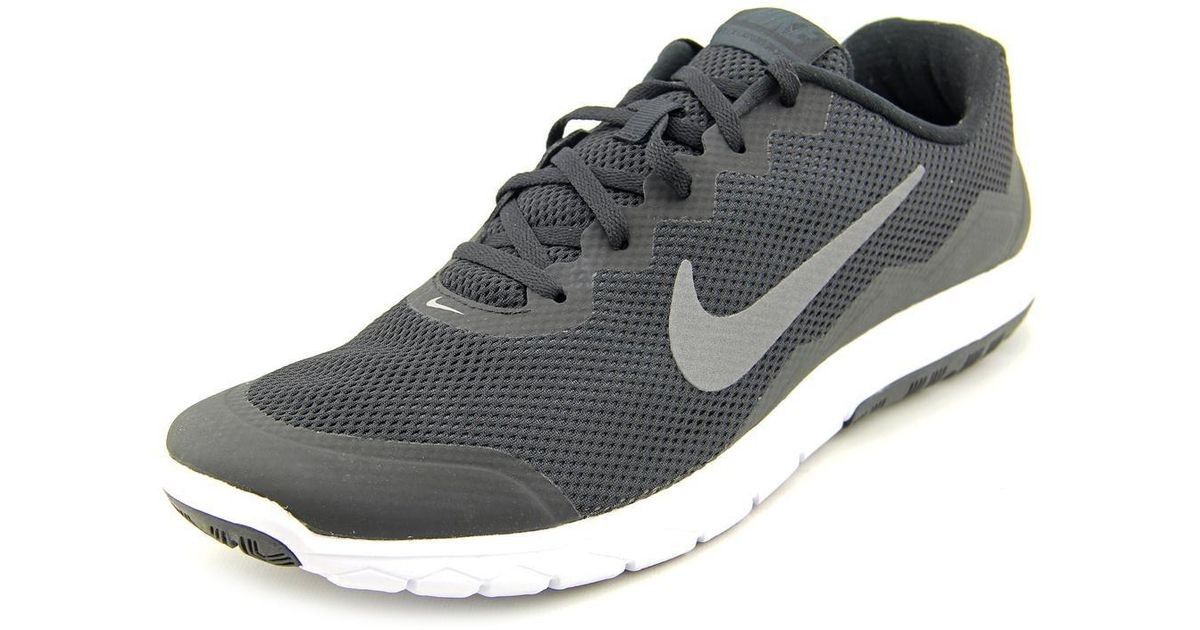 classic fit 64dc5 c28b5 Lyst - Nike Flex Experience Rn 4 Black metallic Dark Grey anthracite white  Ankle-high Mesh Running Shoe in Gray for Men