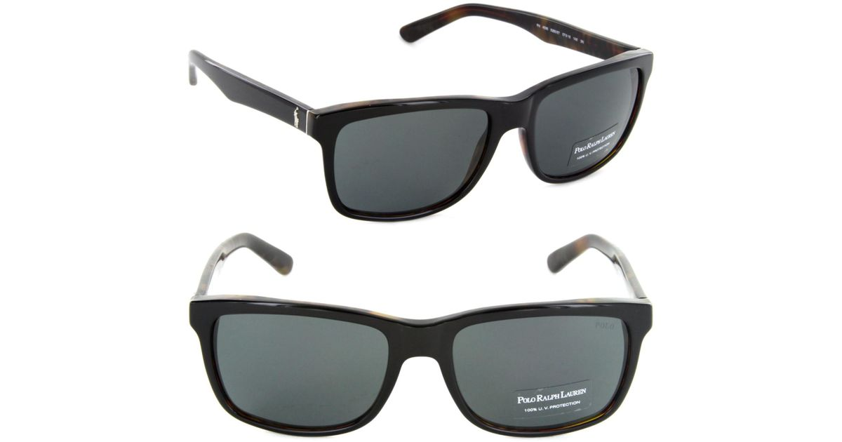 36cfa194aa7a Polo Ralph Lauren Sunglasses Polo Ph 4098 526087 Top Black On Jerry  Tortoise in Black - Lyst
