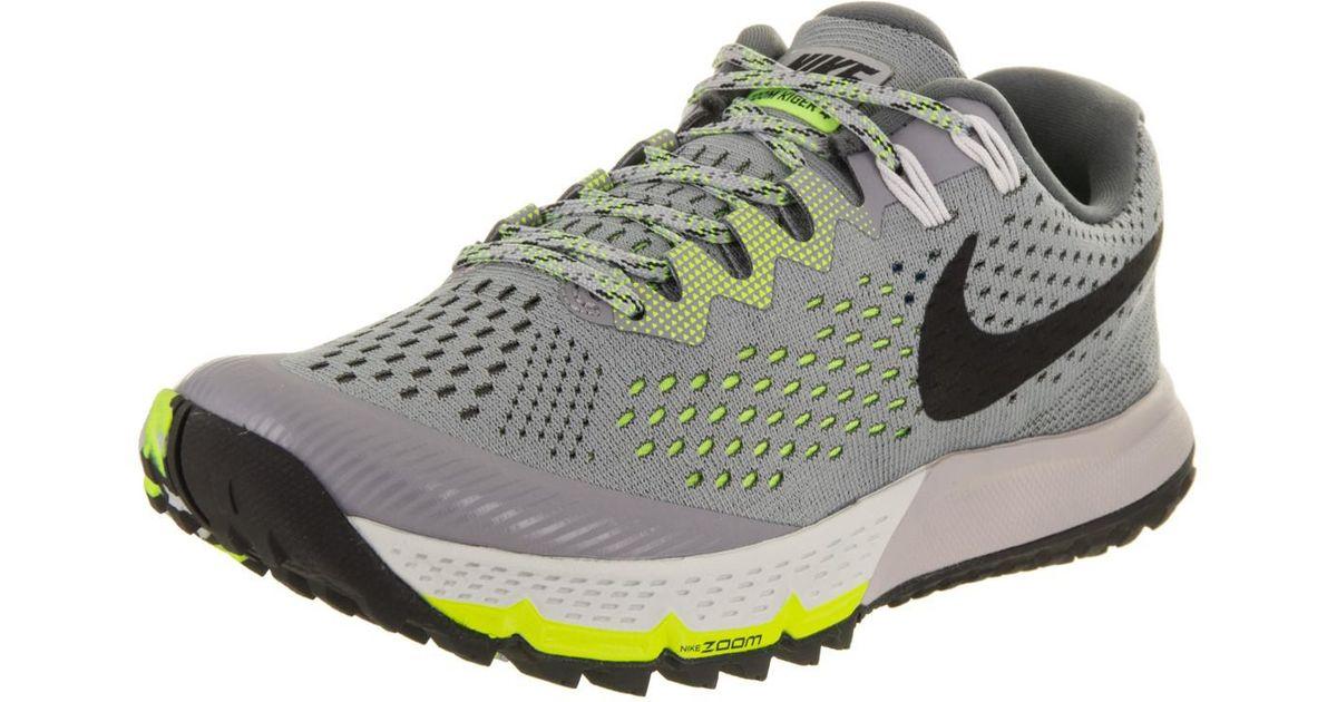 646905fd768 Lyst - Nike Air Zoom Terra Kiger 4 Stealth black dark Grey volt Running Shoe  6.5 Women Us in Gray for Men