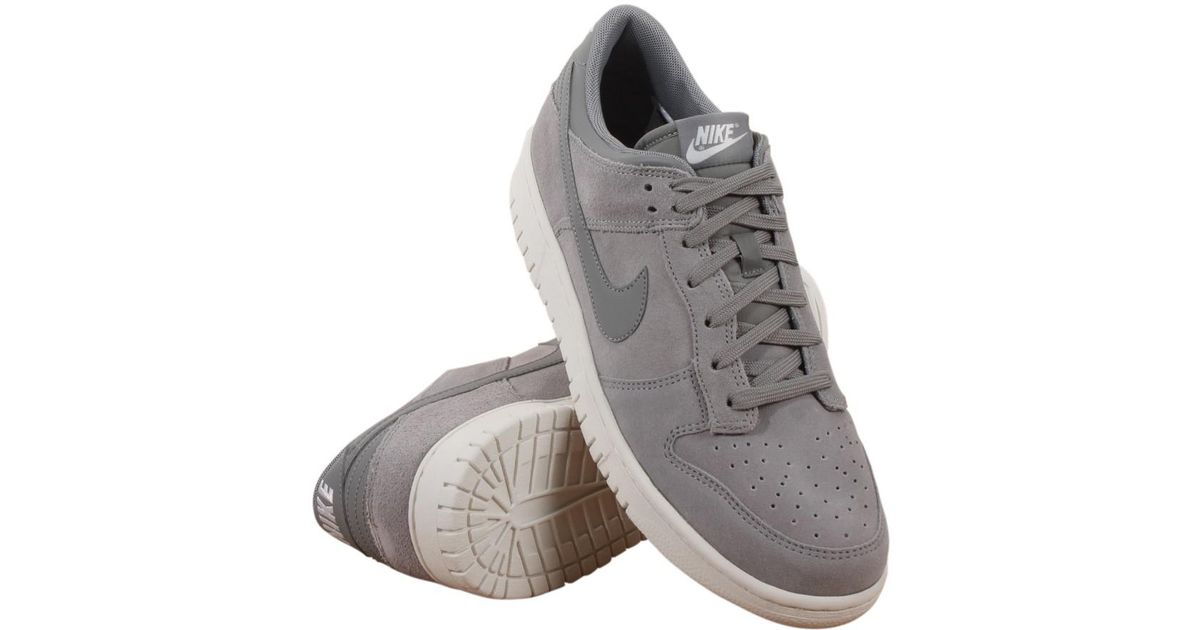 low priced 4a178 ac227 Nike - Gray Dunk Low Dust/dust/summit/white Skate Shoe 13 Men Us for Men -  Lyst