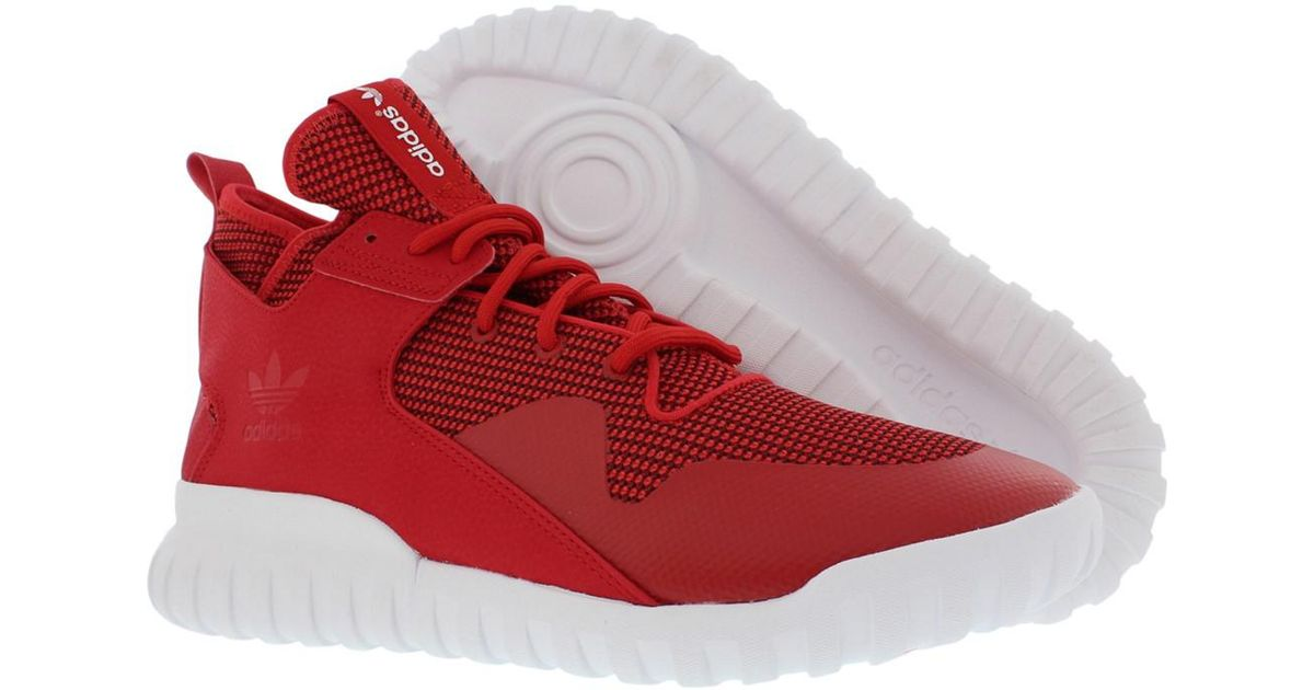 0453f1c49f6f Lyst - Adidas Tubular X Shoes Size 11 in Red for Men