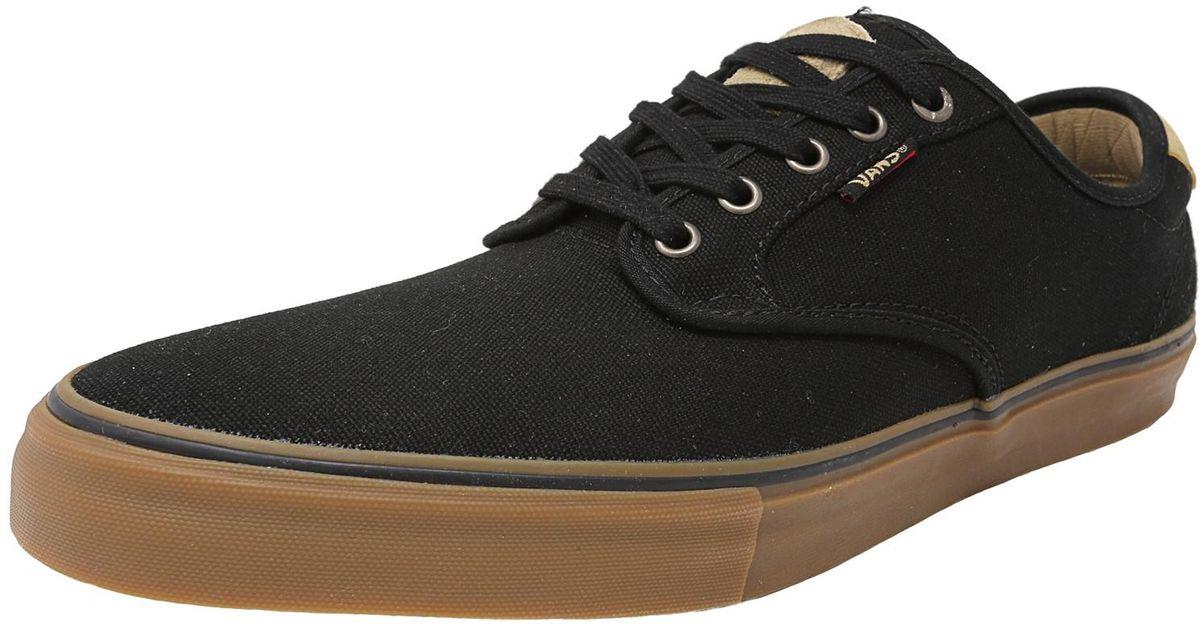c9fef8e7ad Lyst - Vans Chima Ferguson Pro Native Black   Gum Canvas Skateboarding Shoe  in Black for Men