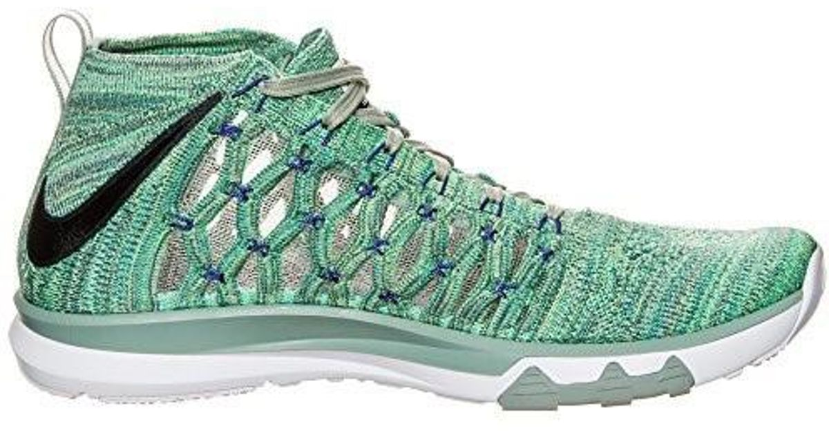 14dc9e9f698a Lyst - Nike Train Ultrafast Flyknit Mens Running Shoe (10.5 D(m)us in Green  for Men