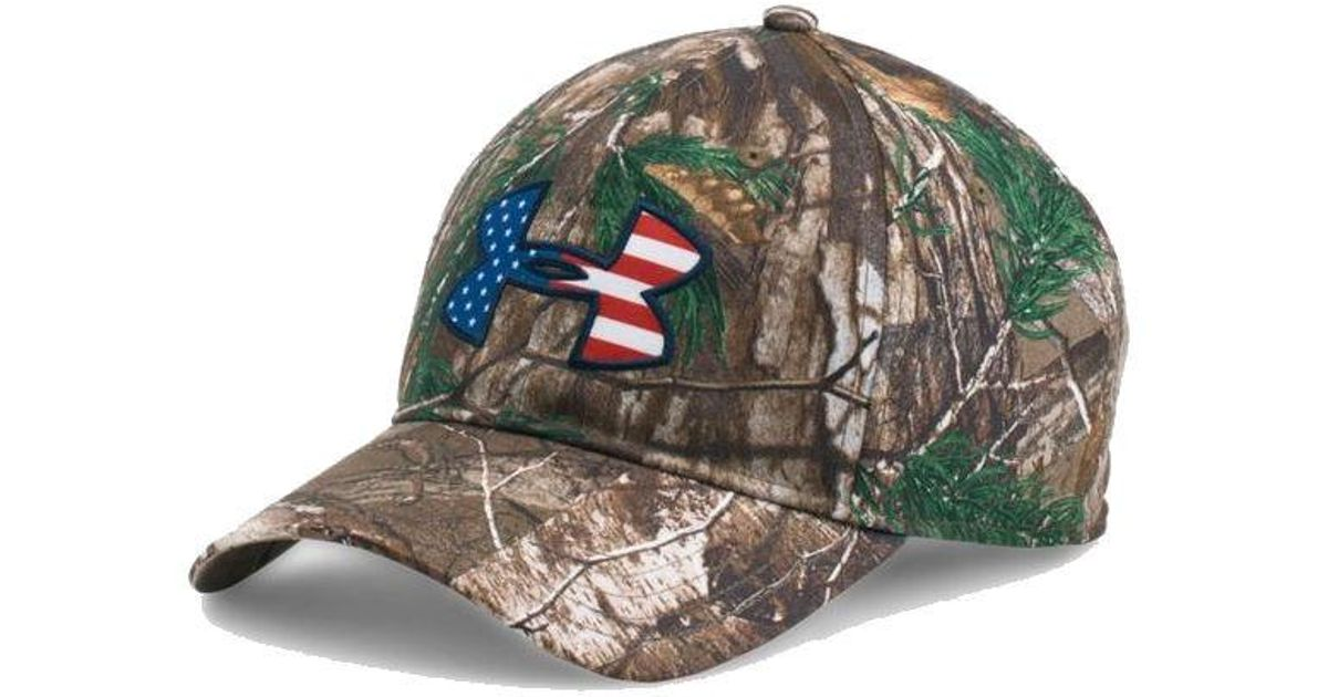 Lyst - Under Armour Ua American Flag Camo Big Logo 2.0 Adjustable Hat  1282392 for Men ee736bd72e2