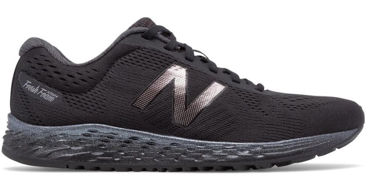 49ac1c331a962 New Balance - Black Fresh Foam Warisv1 Running Shoes for Men - Lyst