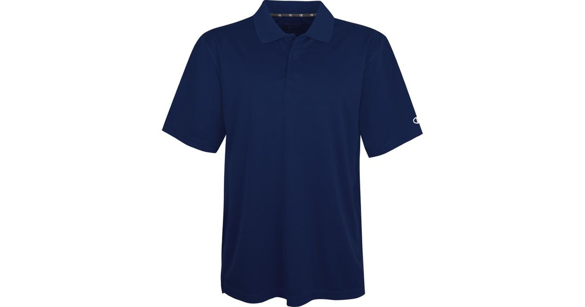 50459148bb5b Lyst - Champion H132 Ultimate Double Dry® Performance Sport Shirt in Blue