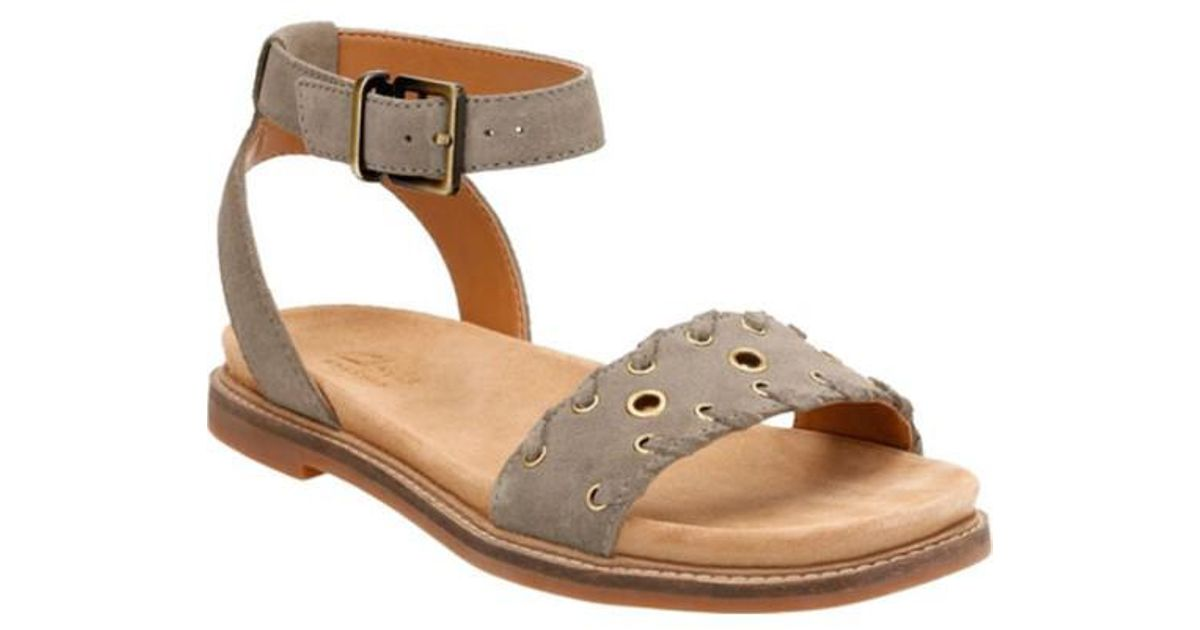 a538aa19abc Lyst - Clarks Corsio Amelia Ankle Strap Sandal