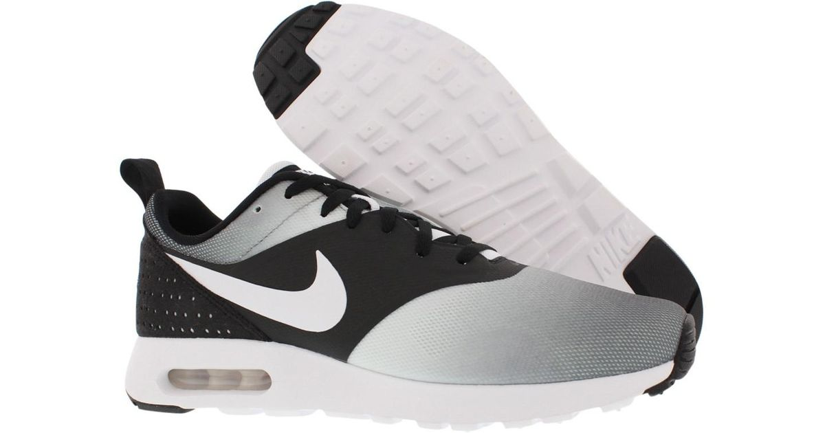cheap for discount 14367 4646f ... norway lyst nike air max tavas print running shoes size 12.5 in black  for men 19bdb