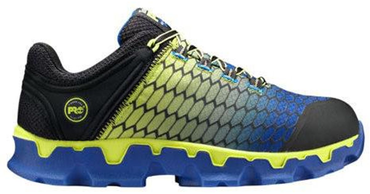 09fa623dea4 Lyst - Timberland Pro Powertrain Sport Alloy Toe Sd Plus Work Shoe in Blue  for Men