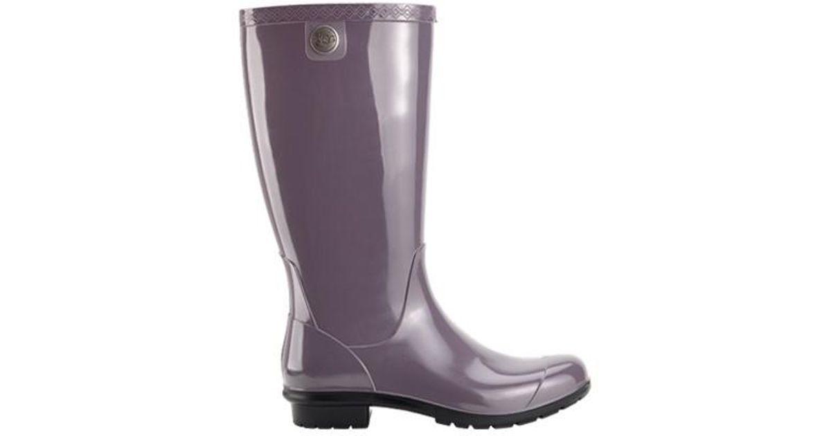 7baec1e2267 Lyst - UGG Ugg Shaye Rain Boot in Purple