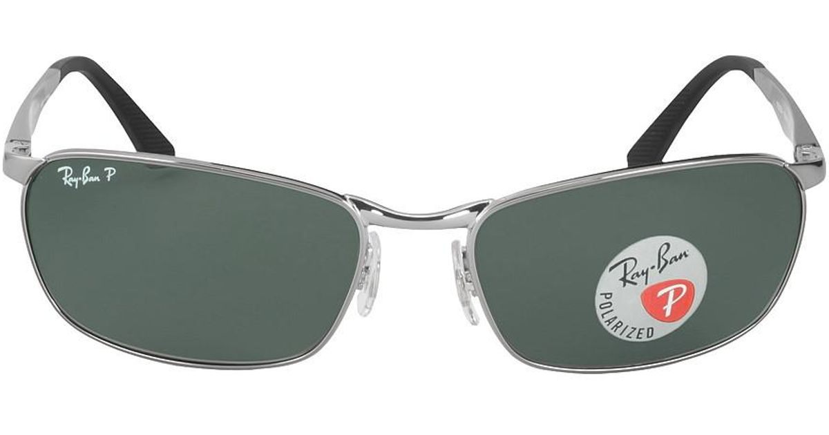 05e445beb3 Lyst - Ray-Ban Sunglasses Rb 3534 004 58 Gunmetal for Men