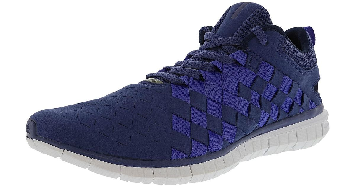 more photos d4950 44c85 Lyst - Nike Free Og 14 Woven Blue Legend   Persian Violet-midnight Navy  Ankle-high Walking Shoe in Blue for Men