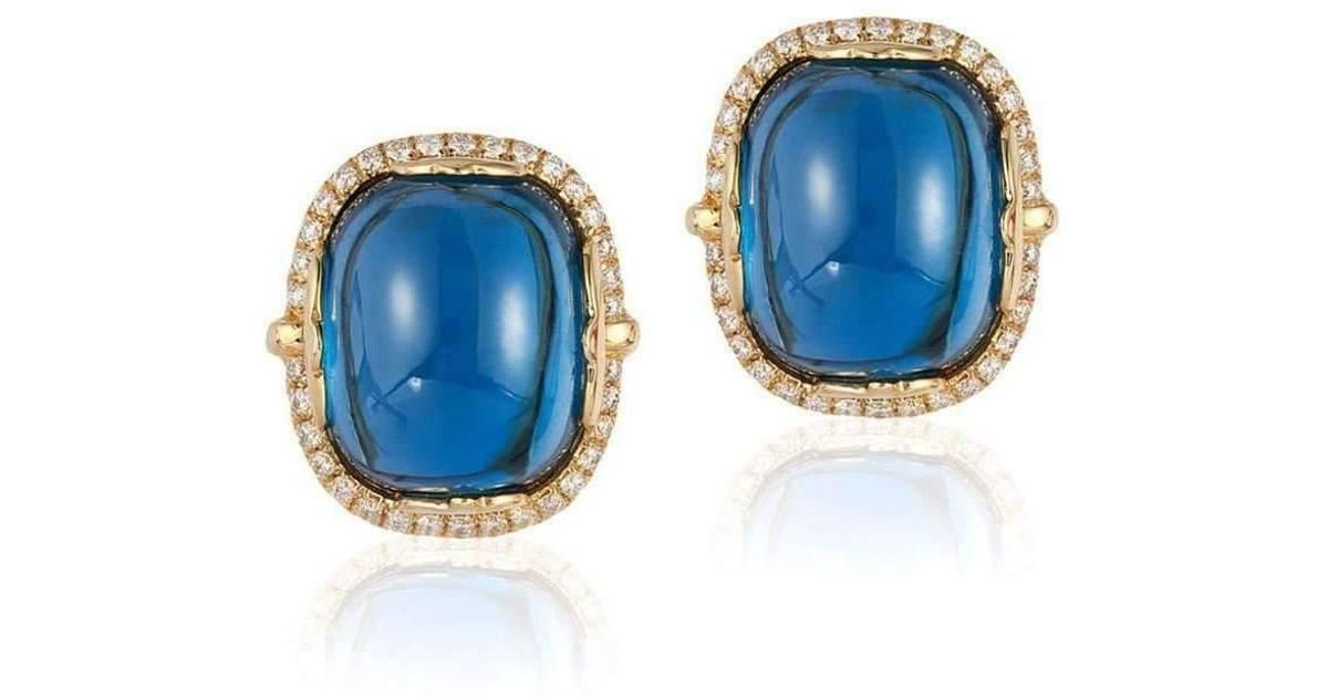 Goshwara Rock n Roll Moon Quartz Cabochon Earrings 71J8EoZU