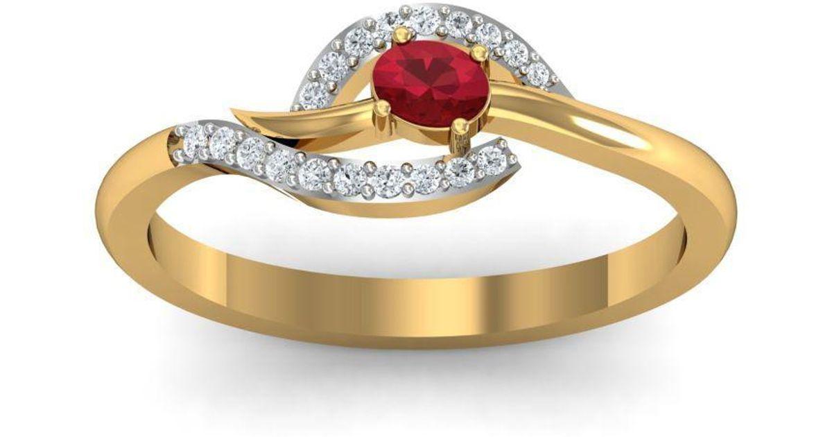 Diamoire Jewels 18kt Yellow Gold Pave 0.24ct Diamond Infinity Ring - UK G 1/4 - US 3 1/2 - EU 45 3/4 SvDRrT