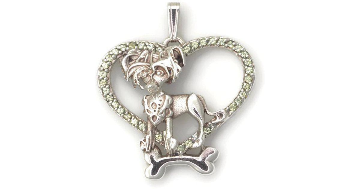 Donna Pizarro Designs Sterling Silver Chinese Shar Pei Necklace 68ejG