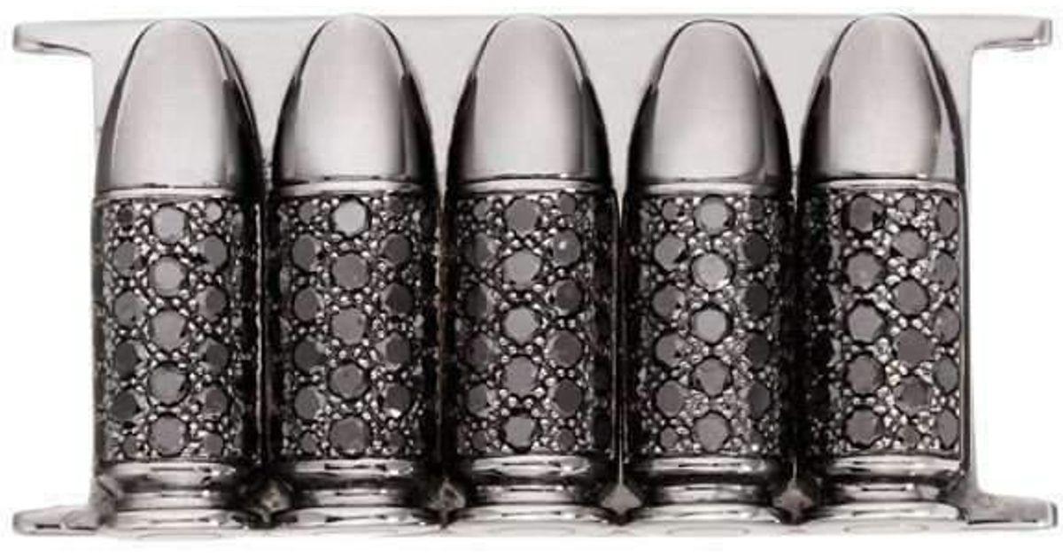 Akillis Bang Bang Pink Gold 5 Bullets Insert Bracelet OyQCs9