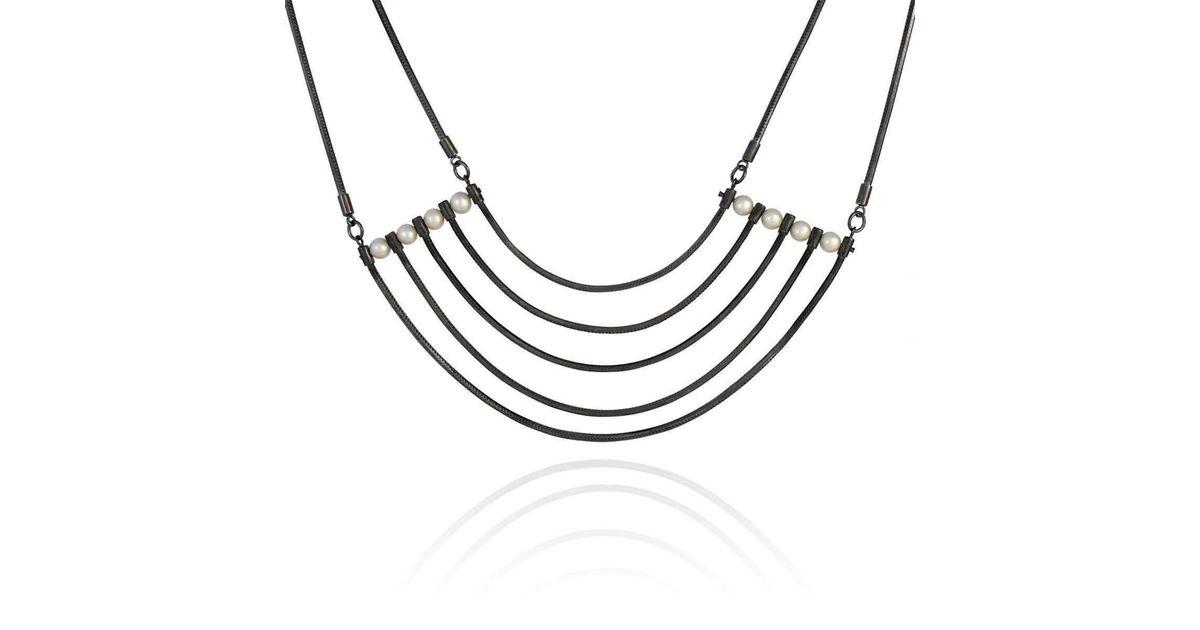 Cara Tonkin Orbit Silver Cosmos Necklace mWZsCuE