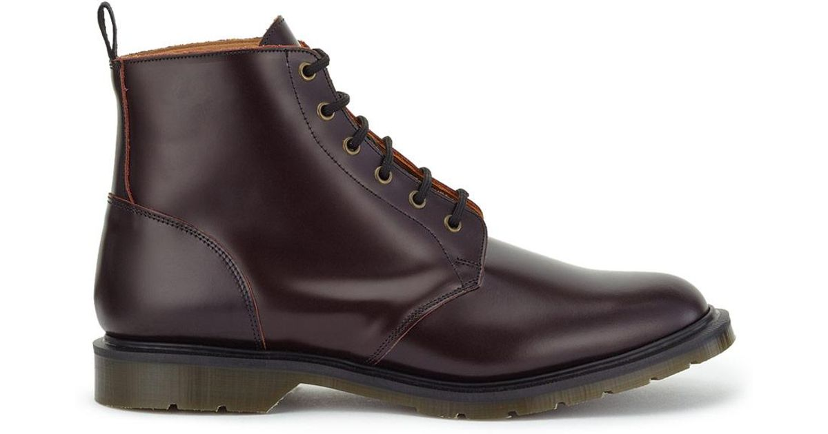Jigsaw Solovair X Made In England Derby Boot In Brown For Men Lyst