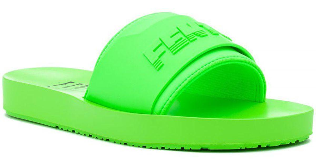 f63f885903eb26 Lyst - Puma Fenty X Puma Surf Slide Green Gecko in Green