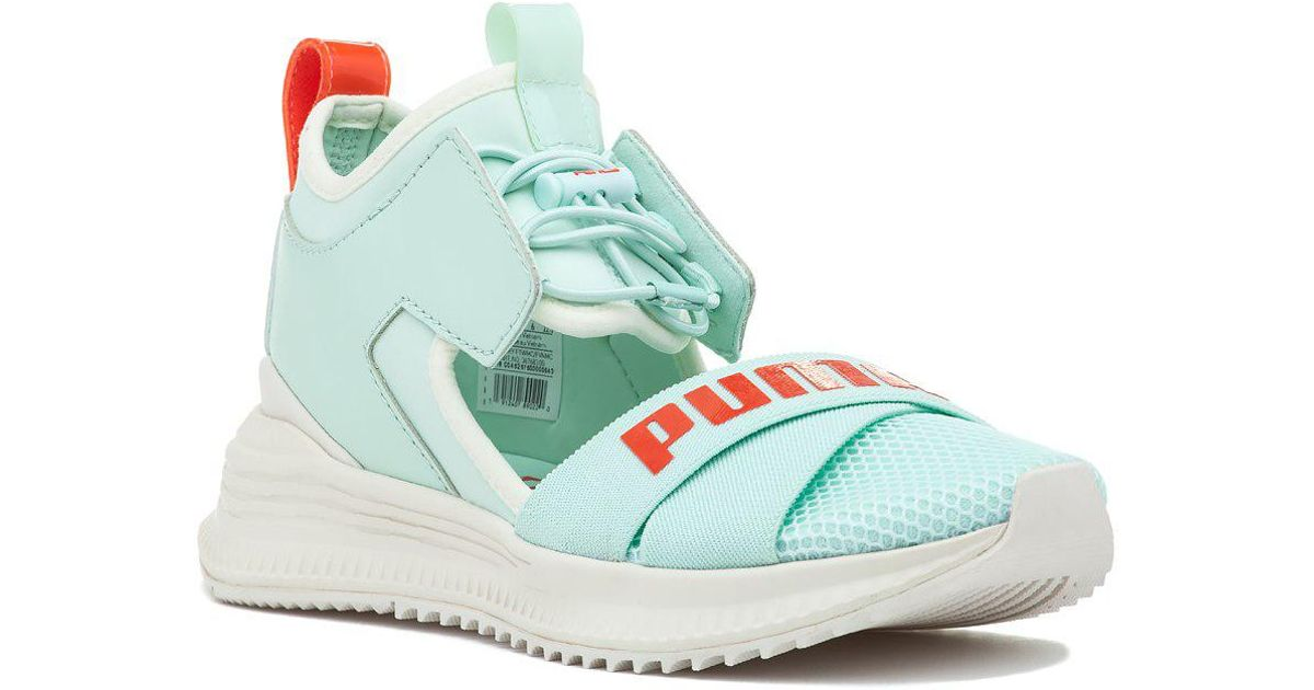 Lyst - PUMA Fenty X Puma Avid Sneaker Bay-cherry Tomato-vanilla Ice in Blue 7a484e3a1