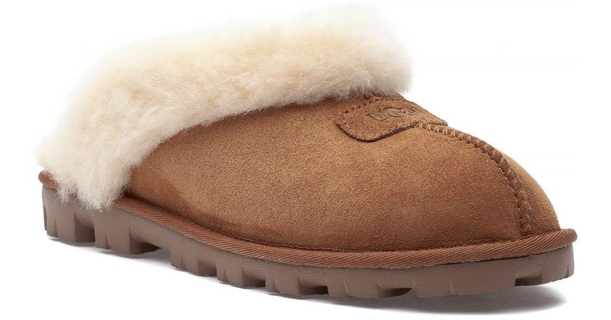 aaac049d0 Ugg Coquette Slipper Chestnut Suede - Lyst