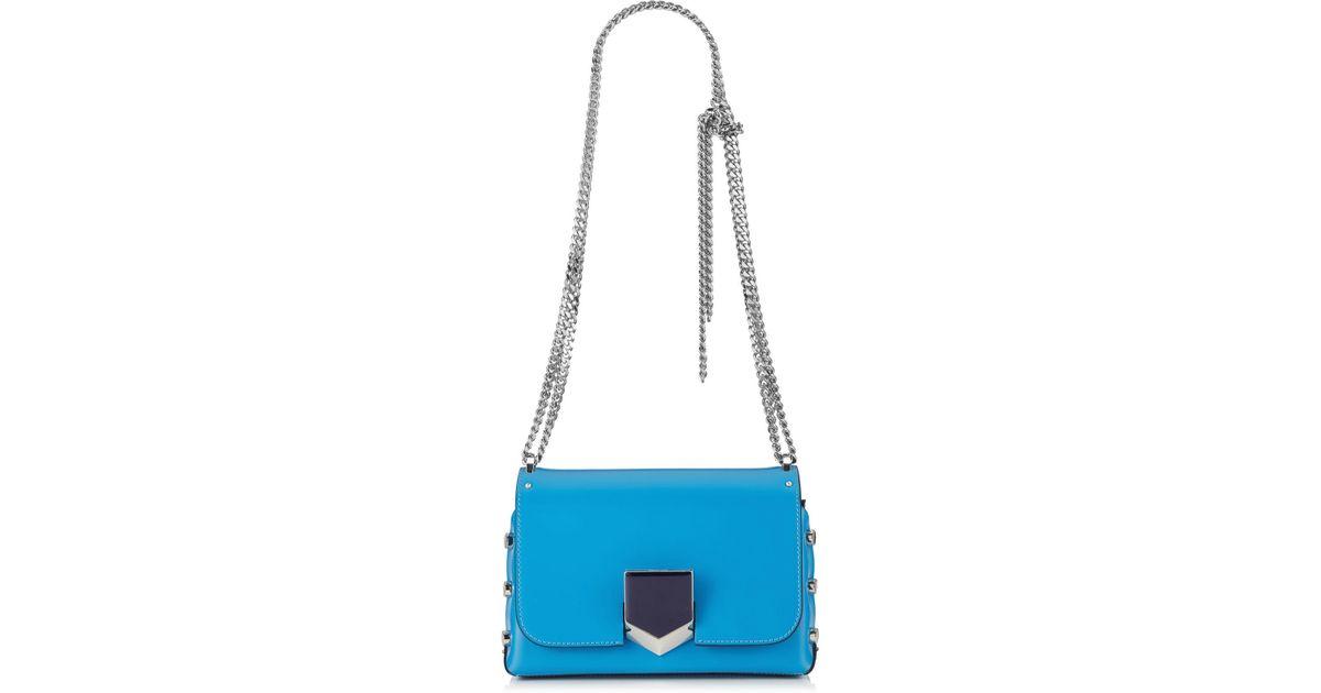 71847f81256e Lyst - Jimmy Choo Lockett Petite in Blue