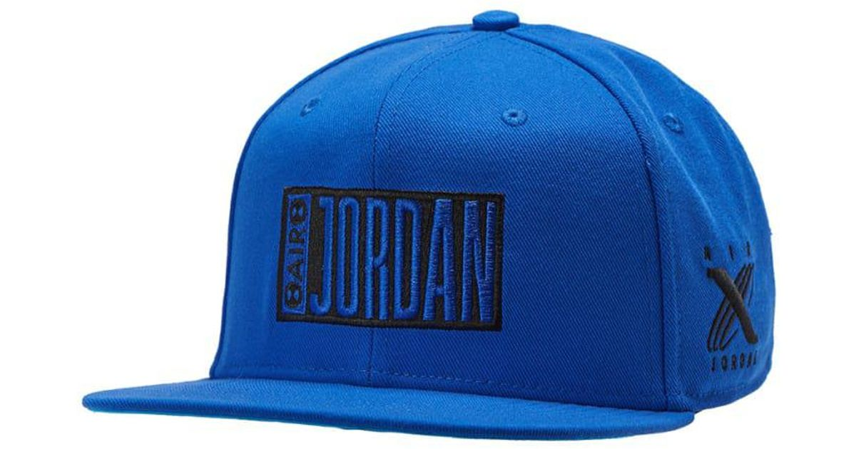 8498d1c102ca Lyst - Nike Tinker Icon Snapback in Blue for Men