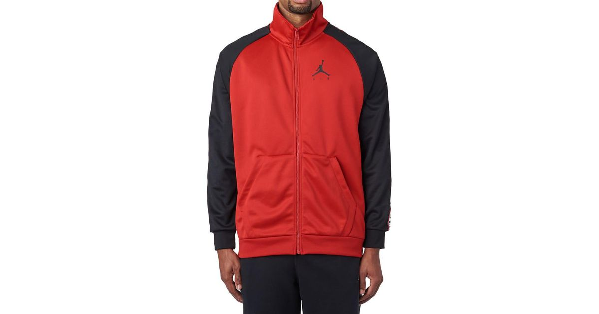 d18e3f042e12ac Lyst - Nike Jsw Jumpman Tricot Jacket in Red for Men