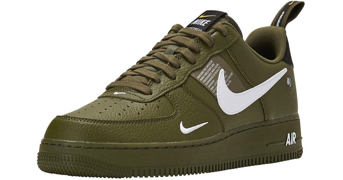 check out 95d87 17276 Lyst - Nike Air Force 1  07 Lv8 Utility in Green for Men nike air