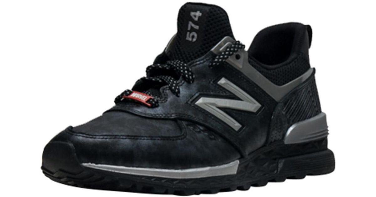 3a2fdf63de7f8 New Balance 574 Sport Black Panther in Black for Men - Lyst
