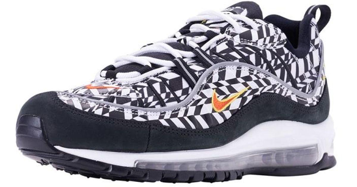Nike Black Air Max 98 Aop for Men Lyst