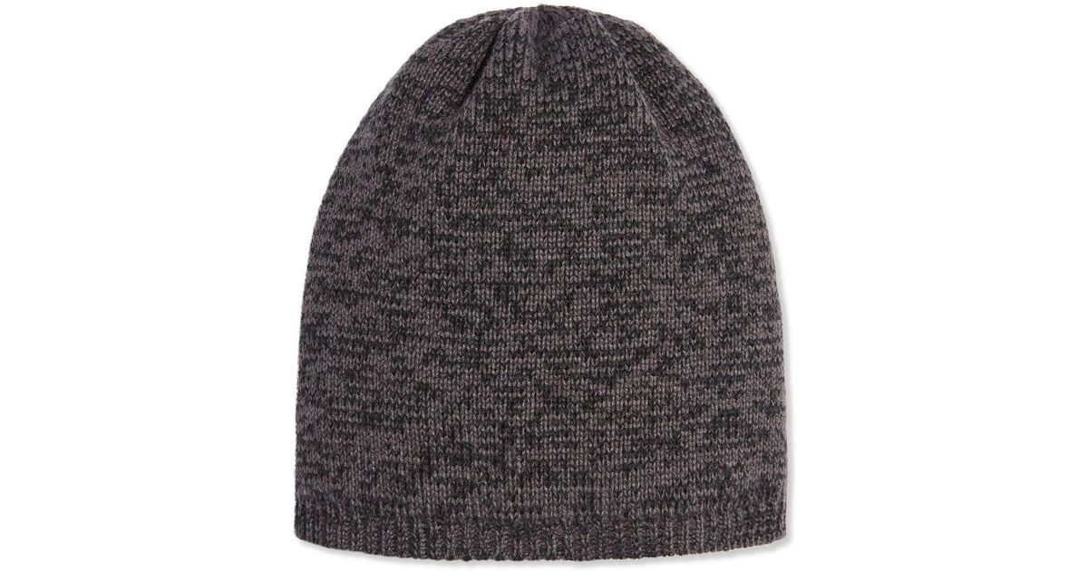 08f48f19e79 Joe Fresh Men s Marled Beanie in Black for Men - Lyst