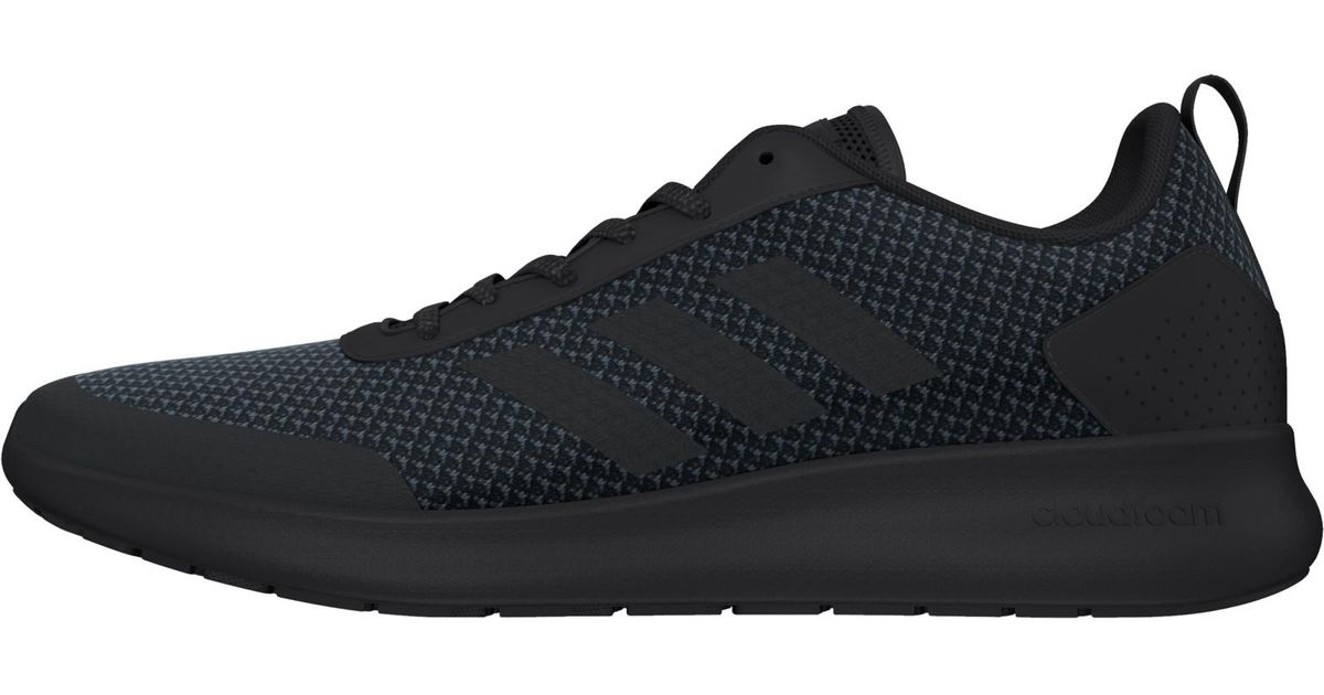 big sale c68b1 883be Black Cloudfoam Running Lyst Shoes Race In Element For Men Adidas POqpwSO