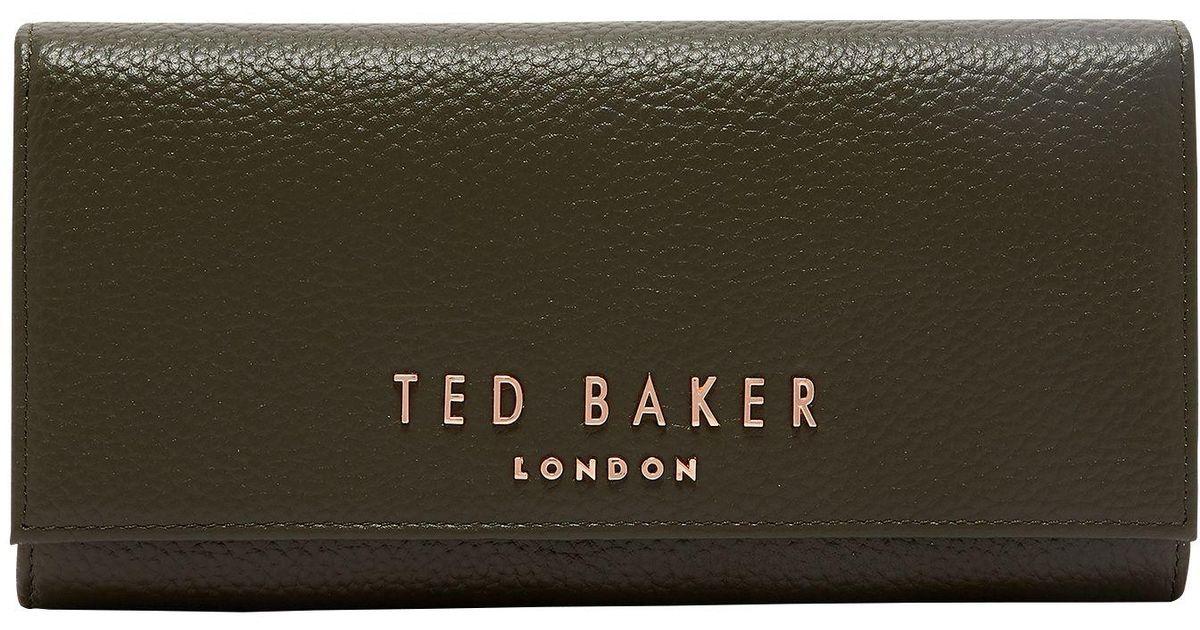 d2de3e267b9 Ted Baker Lura Leather Matinee Purse - Lyst